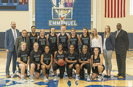 Women's Basketball Program Inducted into New England Hall of Fame